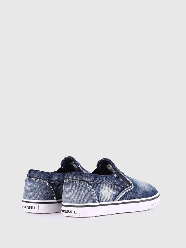 KIDS SLIP ON 21 DENIM YO, Blue Jeans - Footwear - Image 3