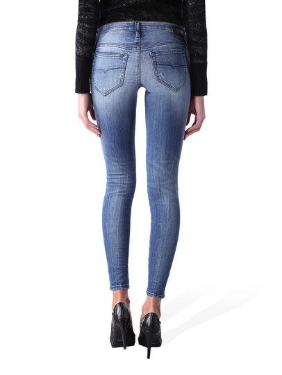 Diesel - Skinzee Low Zip 0847U,  - Jeans - Image 4