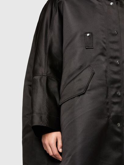 Diesel - W-URSULA-A, Black - Winter Jackets - Image 4
