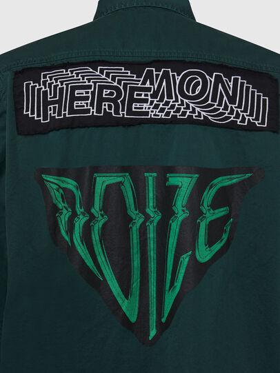 Diesel - S-MARCUS, Dark Green - Shirts - Image 3