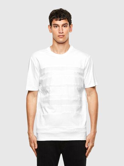 Diesel - T-LOUD, White - T-Shirts - Image 1