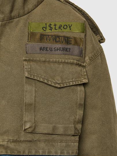Diesel - G-CHRISTINA, Military Green - Jackets - Image 4