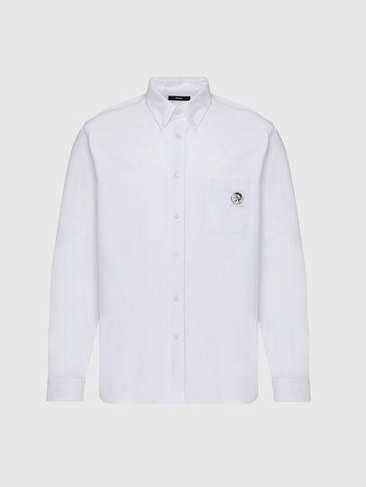 Diesel - S-JAMES, White - Shirts - Image 1