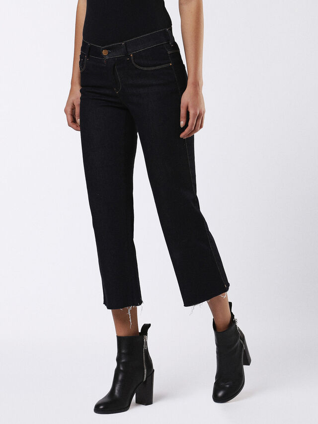 SANDY-KICK 0665W, Black Jeans