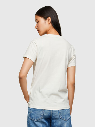 Diesel - T-SILY-R4, White - T-Shirts - Image 2