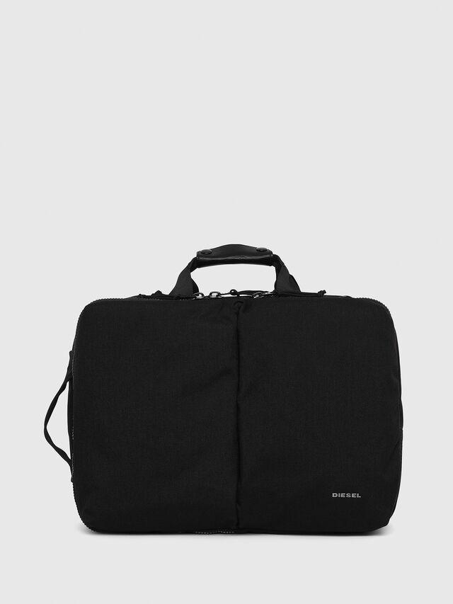 Diesel F-URBHANITY BRIEFCAS, Black - Briefcases - Image 1