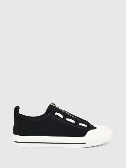 Diesel - S-ASTICO LZIP W, Black - Sneakers - Image 1