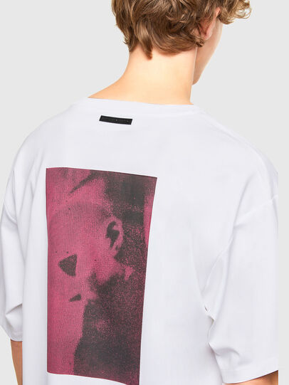 Diesel - T-AFNIO, White - T-Shirts - Image 4