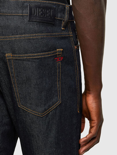 Diesel - D-Vider 009HF, Dark Blue - Jeans - Image 4