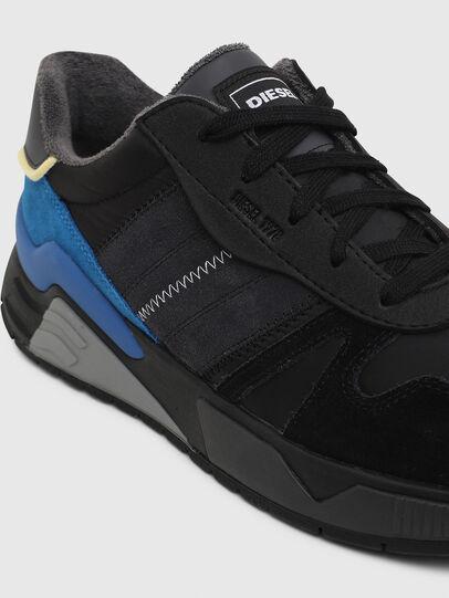 Diesel - S-BRENTHA FLOW, Black/Blue - Sneakers - Image 4