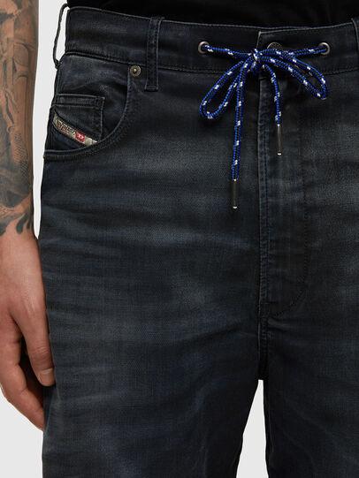 Diesel - D-Skint JoggJeans® 069PE, Dark Blue - Jeans - Image 3