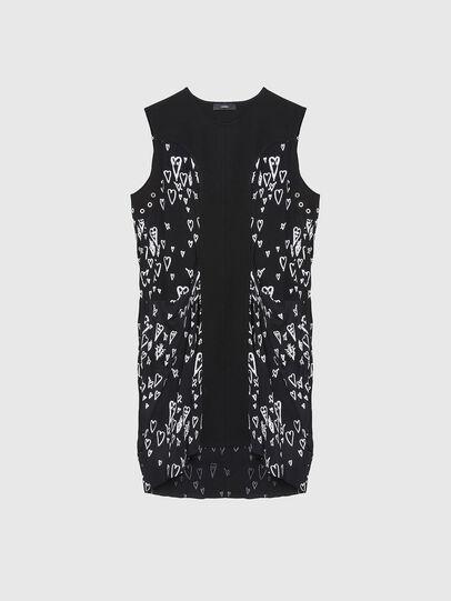 Diesel - D-EVEN, Black - Dresses - Image 1