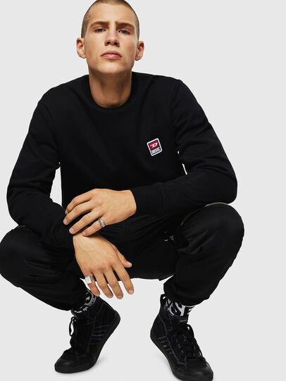 Diesel - S-GIR-DIV-P, Black - Sweaters - Image 7