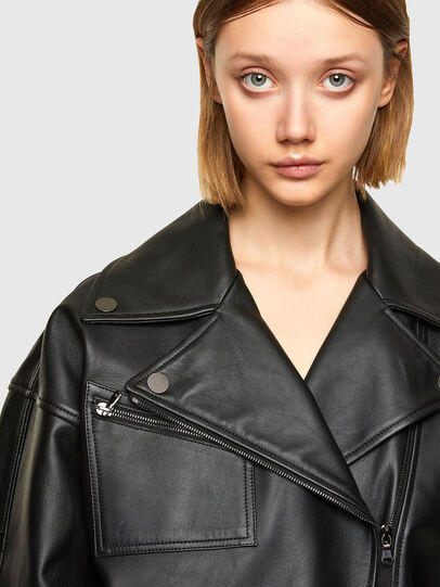 Diesel - L-HAZEL,  - Leather jackets - Image 4