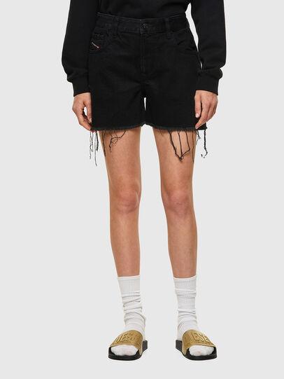 Diesel - DE-REG-R, Black - Shorts - Image 1