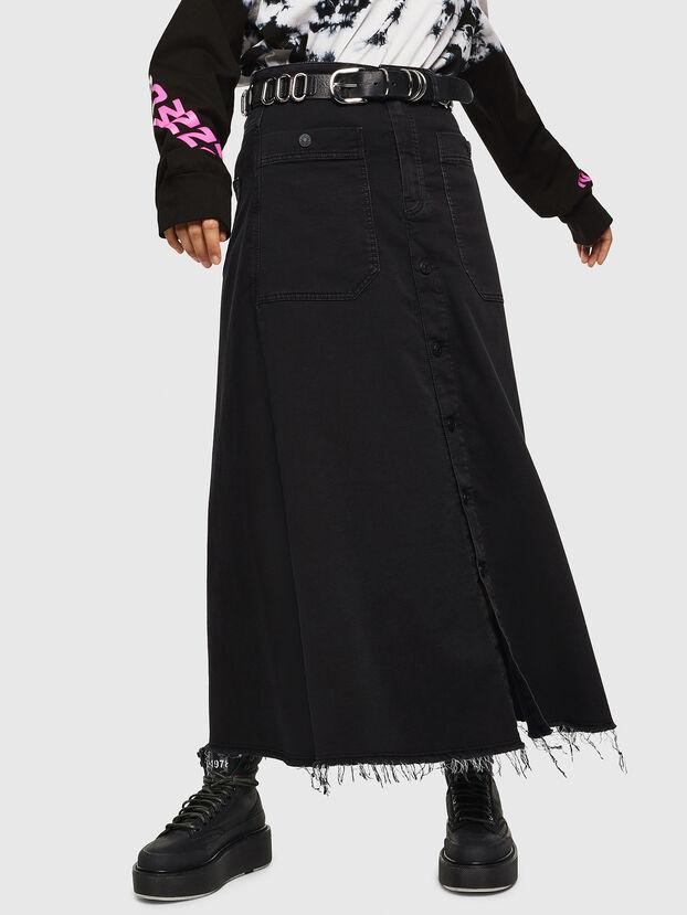 D-RHITA JOGGJEANS, Black - Skirts