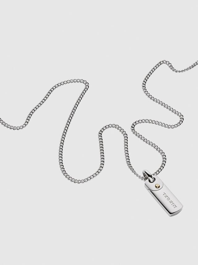 Diesel DX1116, Silver - Necklaces - Image 2