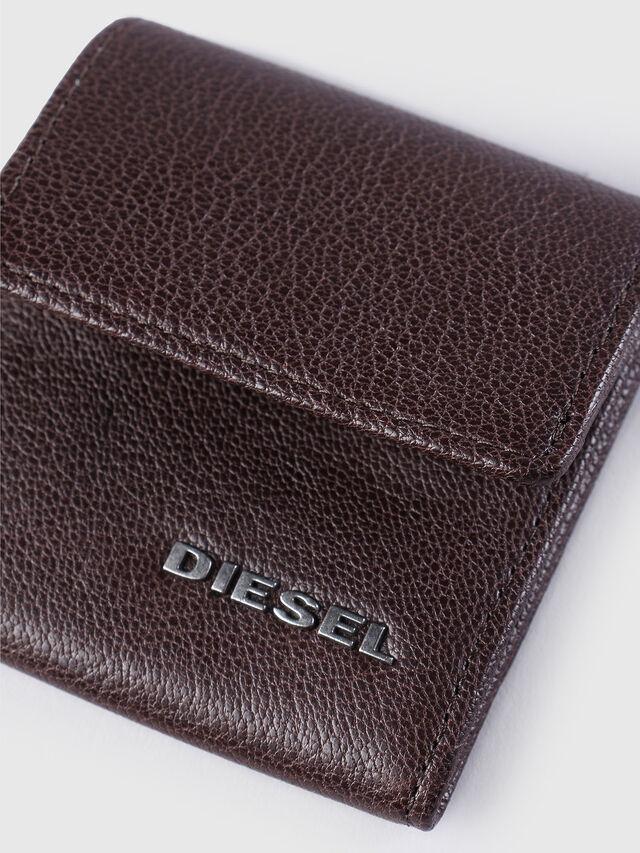 Diesel KOPPER, Dark Brown - Small Wallets - Image 3