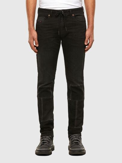 Diesel - Thommer JoggJeans® 009IC, Black/Dark grey - Jeans - Image 1