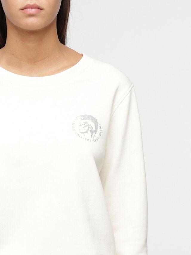 Diesel UFLT-WILLA, White - Sweaters - Image 3