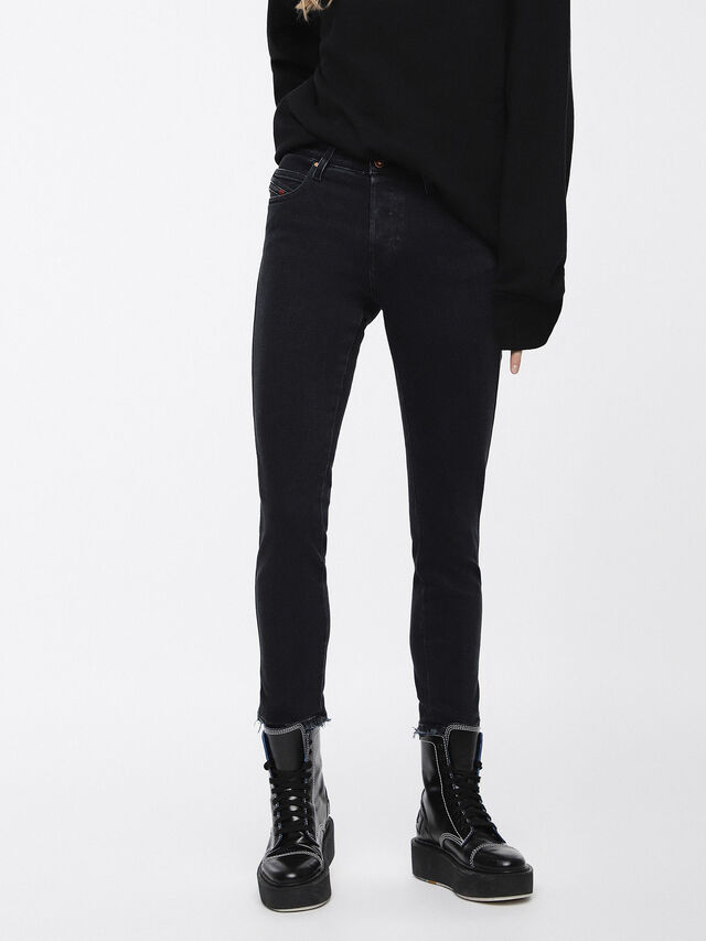 Diesel - Babhila 084NX, Black/Dark grey - Jeans - Image 1