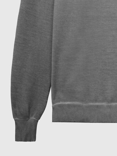 Diesel - S-GIR-DIVISION-LOGO, Dark grey - Sweaters - Image 4