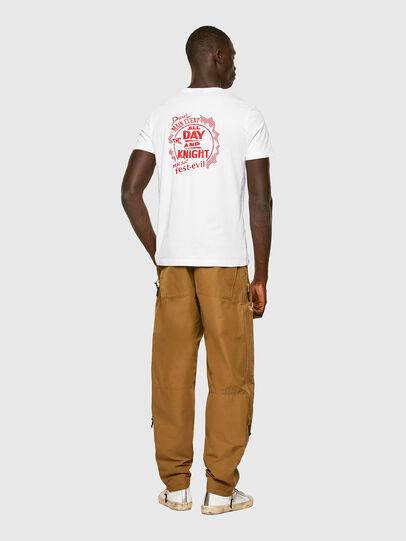 Diesel - T-DIEGOS-K15, White - T-Shirts - Image 4