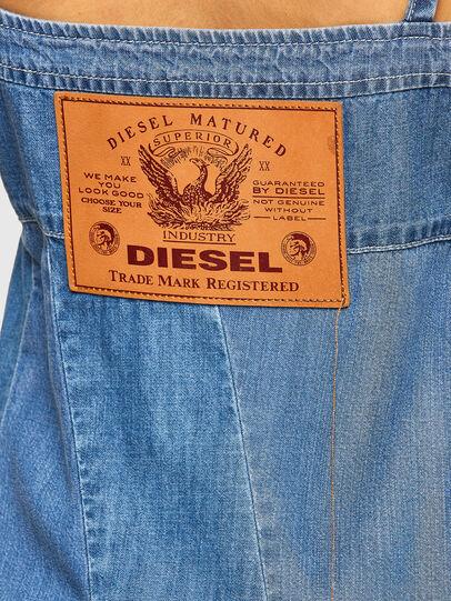 Diesel - DE-ARYA-SP, Medium blue - Dresses - Image 3