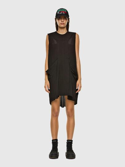 Diesel - D-EVEN-A, Black - Dresses - Image 1