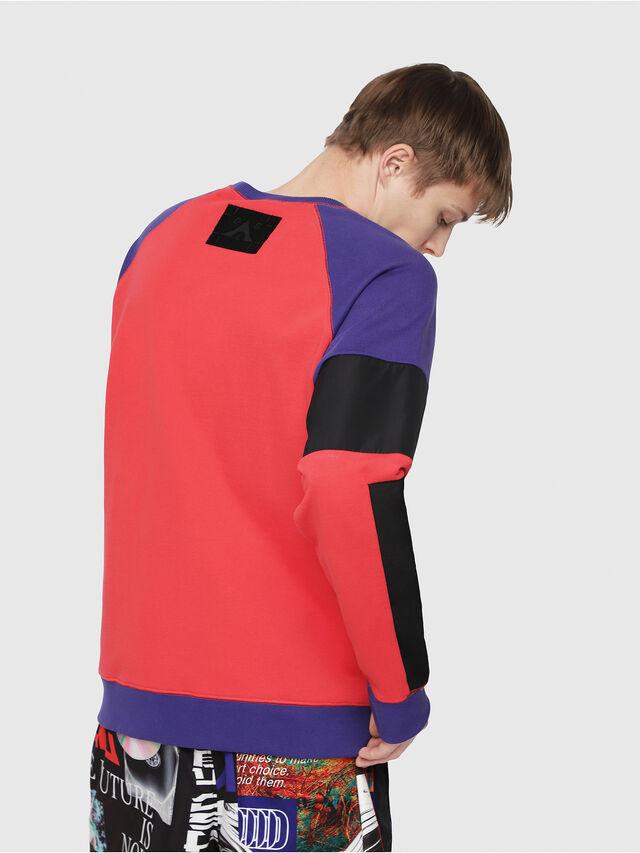 Diesel - S-GIM-BLOCK, Red/Black - Sweaters - Image 2