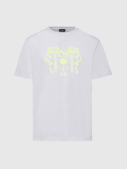 Diesel - T-JUST-X65, White - T-Shirts - Image 1
