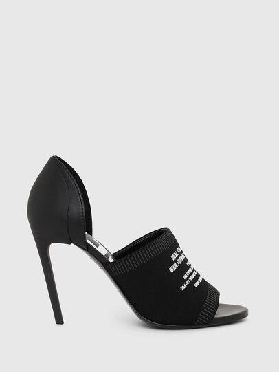 Diesel - SA-SLANTY OT, Black - Sandals - Image 1