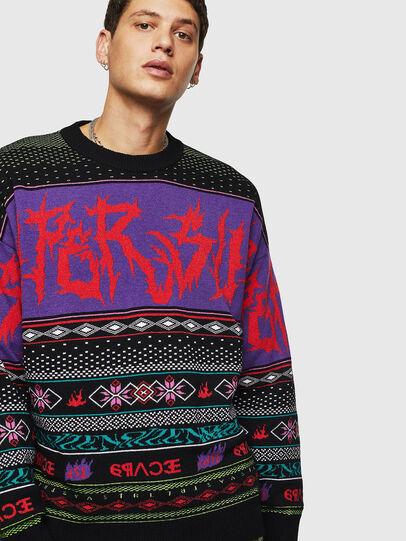 Diesel - K-CHILL, Multicolor/Black - Knitwear - Image 1