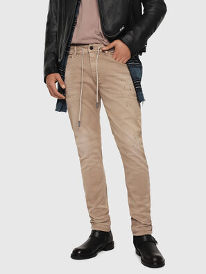 Thommer JoggJeans 069FH, Beige - Jeans