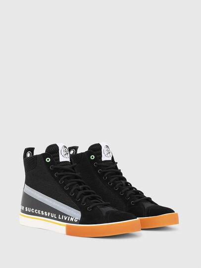 Diesel - S-DVELOWS MID, Black - Sneakers - Image 2