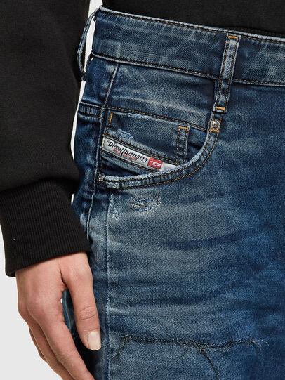 Diesel - Fayza JoggJeans® 069SZ, Dark Blue - Jeans - Image 4