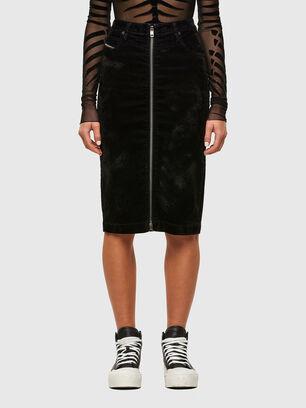 D-ELBEE-SP JOGGJEANS, Black - Skirts