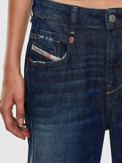 Diesel - Fayza 0F9ET, Dark Blue - Jeans - Image 3