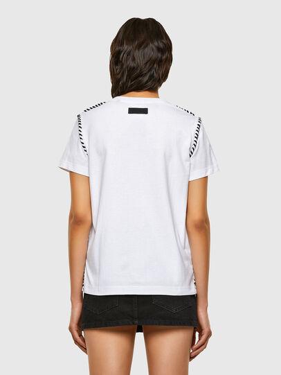 Diesel - T-TWISTY, White - T-Shirts - Image 2