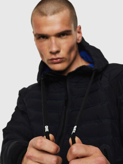 Diesel - W-OBLOSKY, Black - Winter Jackets - Image 5