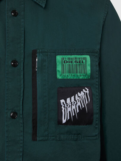 Diesel - S-MARCUS, Dark Green - Shirts - Image 5