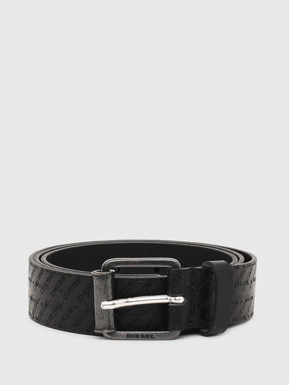 Diesel - B-ZENO, Black - Belts - Image 1