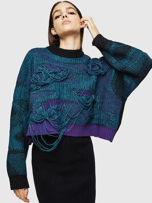 M-KAM, Blue Marine - Knitwear