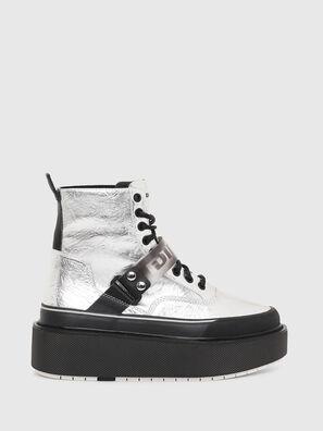 H-SCIROCCO STRAP, Silver - Sneakers