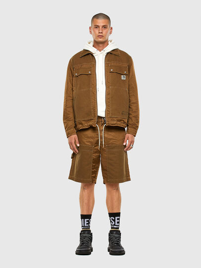 Diesel - J-BERKLEY, Light Brown - Jackets - Image 6