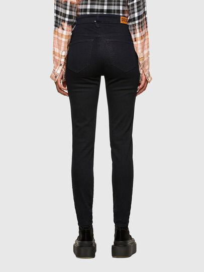 Diesel - Slandy High 009CW, Dark Blue - Jeans - Image 2