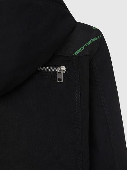 Diesel - D-COSMIC, Black - Denim Jackets - Image 5