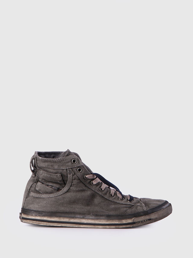 Diesel - EXPOSURE I, Metal Grey - Sneakers - Image 1
