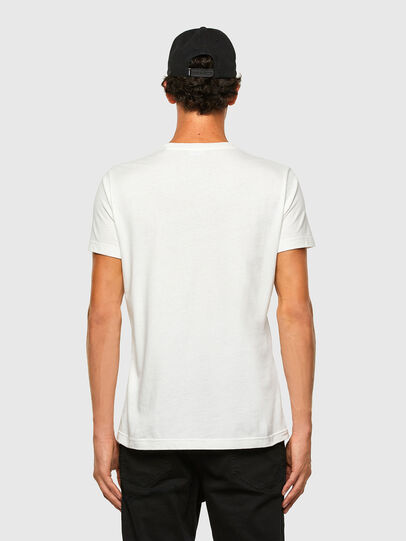 Diesel - T-WORKY-MOHI, White - T-Shirts - Image 5