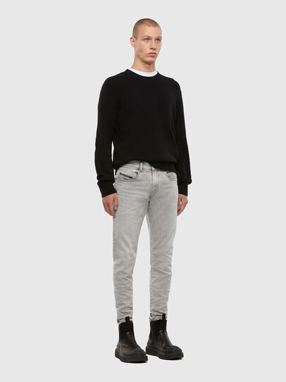 Diesel - D-Strukt 069RE, Light Grey - Jeans - Image 5